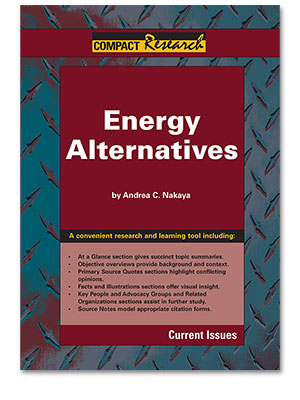 Compact Research: Current Issues: Energy Alternatives
