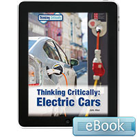 Thinking Critically: Electric Cars - eBook