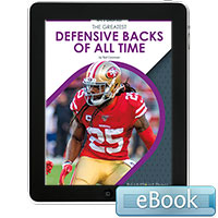 The Greatest Defensive Backs of All Time - eBook