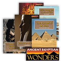 Ancient Egyptian Wonders Series - 5 Hardcover Books