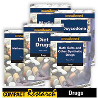 Compact Research: Drugs Series - 17 Hardcover Books