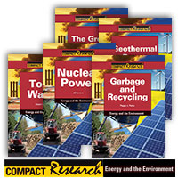 Compact Research: Energy and the Environment Series - 17 Hardcover Books
