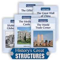History's Great Structures Series - 7 Hardcover Books