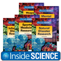 Inside Science Series - 12 Hardcover Books