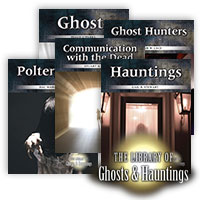 The Library of Ghosts &  Hauntings Series - 5 Hardcover Books