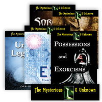 The Mysterious and Unknown Series - 21 Hardcover Books