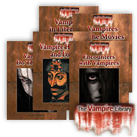 The Vampire Library Series - 5 Hardcover Books