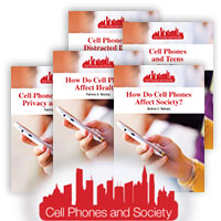 Cell Phones and Society Series - 5 Hardcover Books