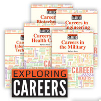 Exploring Careers - 6 Hardcover Books