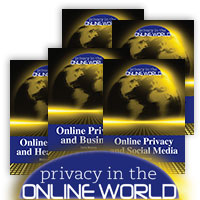 Privacy in the Online World - 6 Hardcover Books