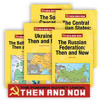 The Former Soviet Union: Then and Now - 5 Hardcover Books