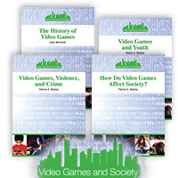 Video Games and Society - 4 Hardcover Books