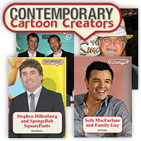 Contemporary Cartoon Creators Series