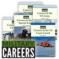 Military Careers Hardcover Set