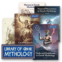 Library of Greek Mythology Hardcover Set