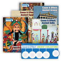 Cause & Effect: Ancient Civilizations Hardcover Set
