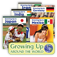 Growing Up Around the World Hardcover Set