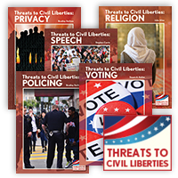 Threats to Civil Liberties Hardcover Set